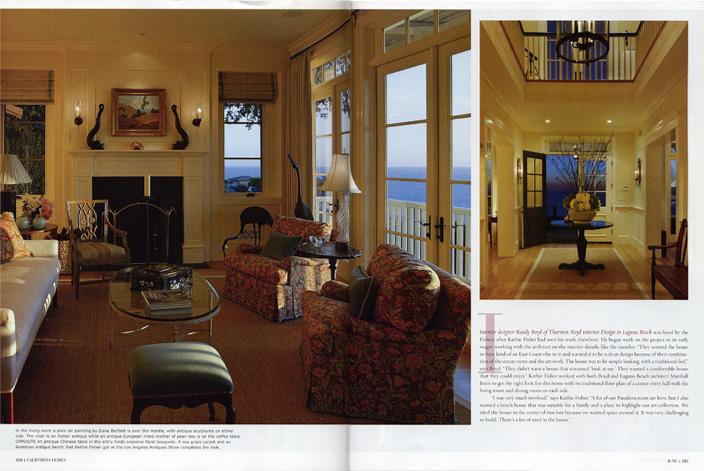 Thurstonboyd for California home and design magazine