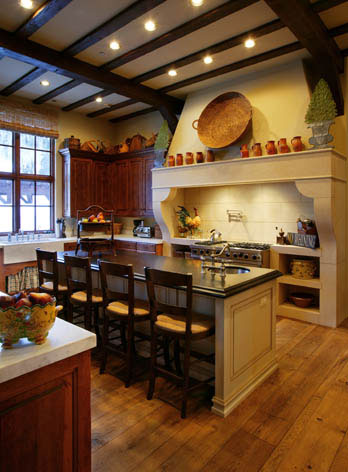 Custom Cabinets kitchen ParkCity